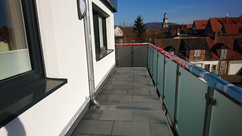 Balkonanschluss   Metallbau Hausmann Rinteln